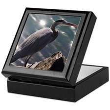 Great Blue Heron Keepsake Box
