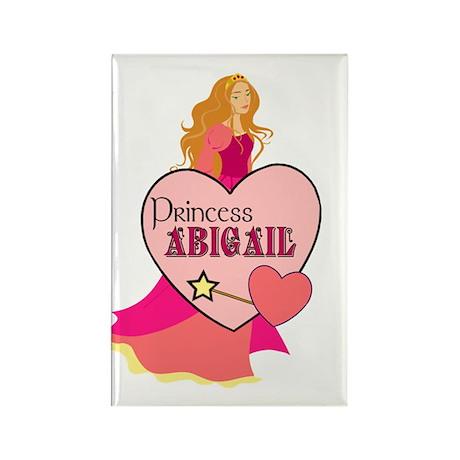 Princess Abigail Rectangle Magnet