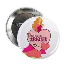 Princess Abigail Button