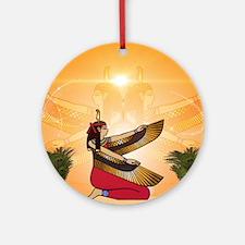 Isis the goddess of Egyptian mythology Ornament (R