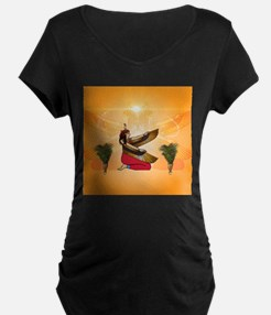 Isis the goddess of Egyptian mythology Maternity T