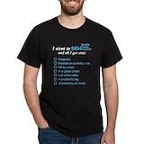 Greysanatomytv Mens Classic Dark T-Shirts