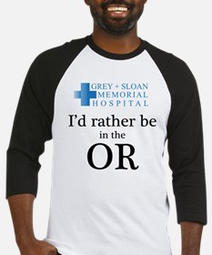 I'd Rather Be in the OR Baseball Jersey