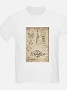 Da Vinci USS Voyager T-Shirt
