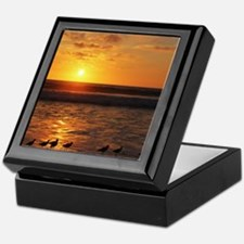 Shorebird Sunset Keepsake Box