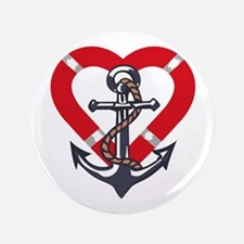 """ANCHOR AND PRESERVER 3.5"""" Button (100 pack)"""