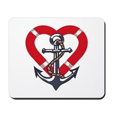 ANCHOR AND PRESERVER Mousepad