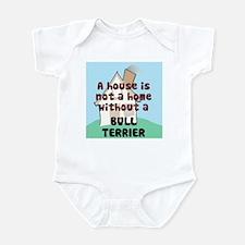 Bull Terrier Home Infant Bodysuit