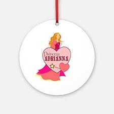 Princess Adrianna Ornament (Round)