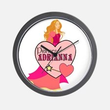 Princess Adrianna Wall Clock