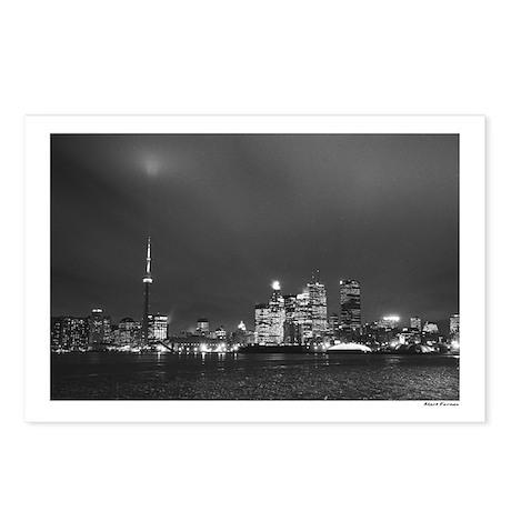 Toronto Skyline at Night - Postcards (Pkg of 8)