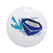 POWERBOAT Ornament (Round)