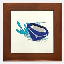 POWERBOAT Framed Tile