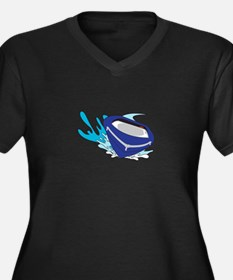 POWERBOAT Plus Size T-Shirt