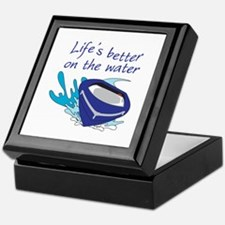 LIFES BETTER ON THE WATER Keepsake Box