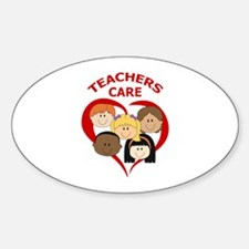 TEACHERS CARE Decal