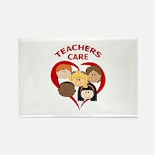 TEACHERS CARE Magnets