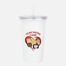 TEACHERS CARE Acrylic Double-wall Tumbler