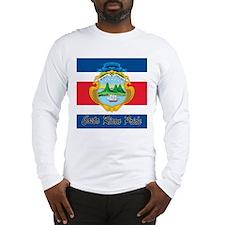 Costa Rican Pride Long Sleeve T-Shirt