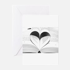 For the Love of Books Greeting Cards