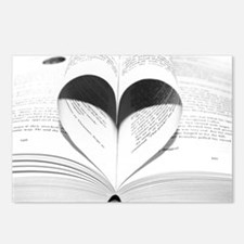 For the Love of Books Postcards (Package of 8)