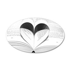 For the Love of Books Wall Decal