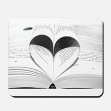 For the Love of Books Mousepad