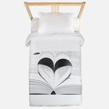For the Love of Books Twin Duvet