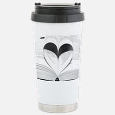 For the Love of Books Travel Mug