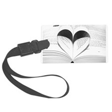 For the Love of Books Luggage Tag
