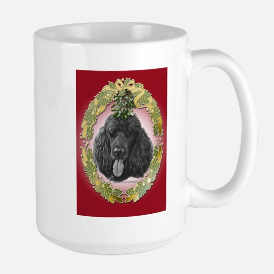 Shadow, Standard Poodle Stainless Steel Travel Mug