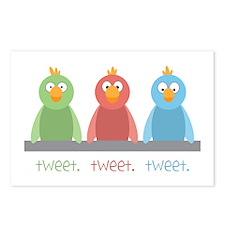 Tweet. Tweet. Tweet Postcards (Package of 8)