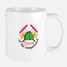 QUEEN OF THE CAMPGROUND Mugs