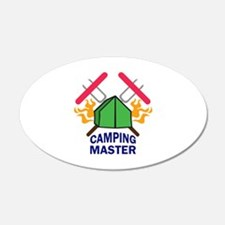CAMPING MASTER Wall Decal