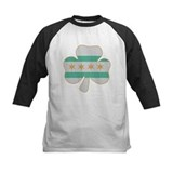 Chicago flag st patricks day Baseball Jersey