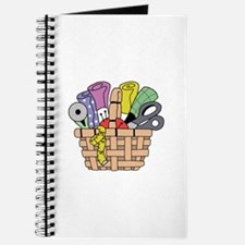SEWING QUILTING BASKET Journal