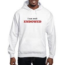 I am well endowed Hoodie