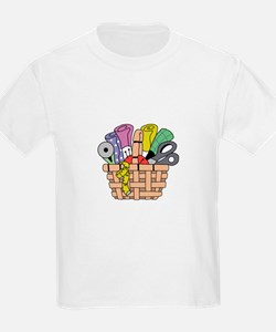 SEWING QUILTING BASKET T-Shirt