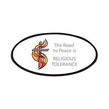 The Road To Peace Is Religious Tolerance Patches