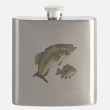 BASS FISHES Flask