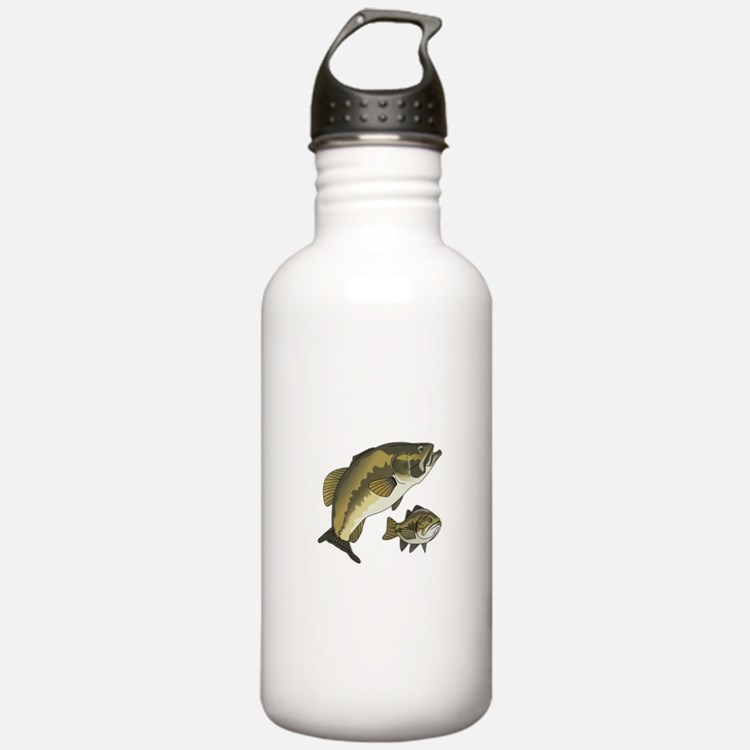 BASS FISHES Water Bottle