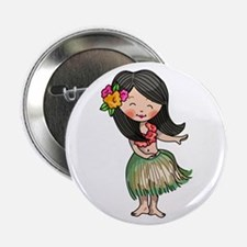 "HULA DANCER 2.25"" Button (100 pack)"