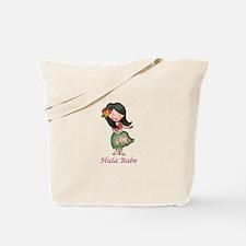 HULA BABE Tote Bag