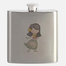 HULA DANCER Flask