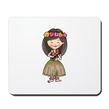 Hula Dancer Mousepad