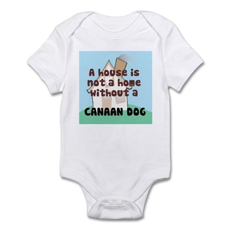 Canaan Dog Home Infant Bodysuit