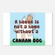 Canaan Dog Home Postcards (Package of 8)
