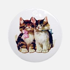 CATS MEOW Ornament (Round)