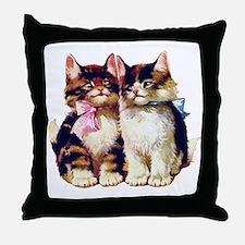 CATS MEOW Throw Pillow