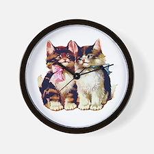 CATS MEOW Wall Clock